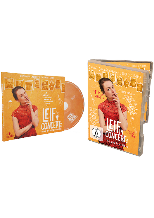 limitiertes 'Leif in Concert - Vol. 2' Paket - mit DVD und Soundtrack (CD)